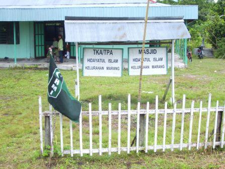 Ini Lokasinya, Masjid Hidayatul Insan Kelurahan Marang