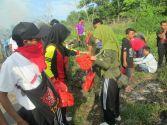 Gotong Royong dan Penanaman Pohon Bersama Pemkot Palangka Raya, OKP,Masyarakat