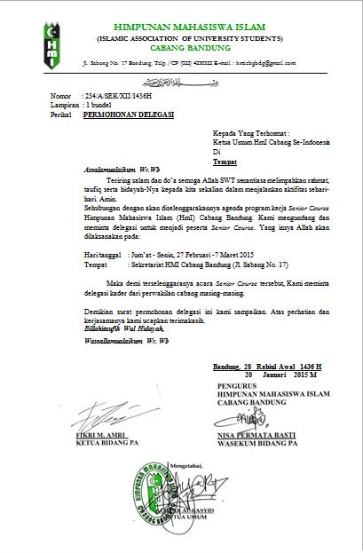 Senior Course Kursus Instruktur Hmi Cabang Bandung Hmi